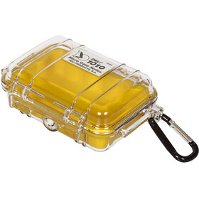 Peli MicroCase 1010 Kotelo, transparent-yellow